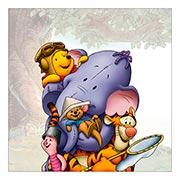Хардпостер (на твёрдой основе) Winnie the Pooh
